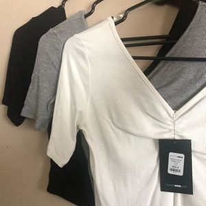 Crop tops-all 3 for $15